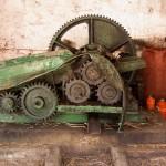 Trapiche mecânico (extracção de açúcar da cana)