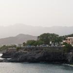 Porto Novo visto do Ferry ao final do dia