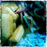 Rio de Janeiro - Alexandra Prado Coelho - Carne seca com arroz, feijão e aipim frito no Bar Jobi