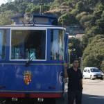 Tibidabo, tranvía blau