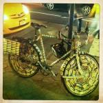 bicicleta metro