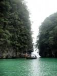 Tailândia, Lagoa, ilha de Hong, Krabi