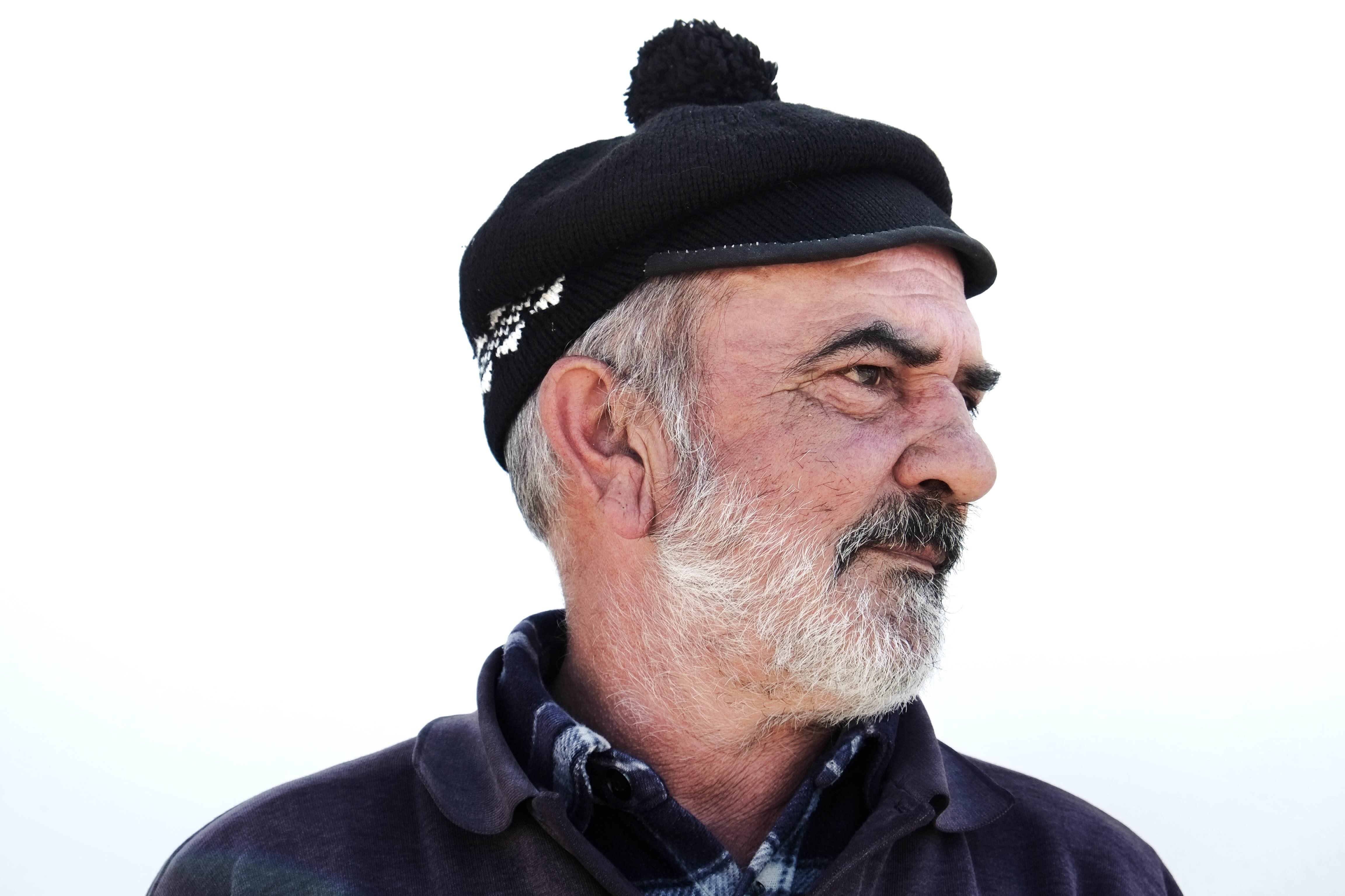 Barreta - Aqui usada pelo sr. Inácio, morador na ilha, pescador amador - @Enric Vives-Rubio
