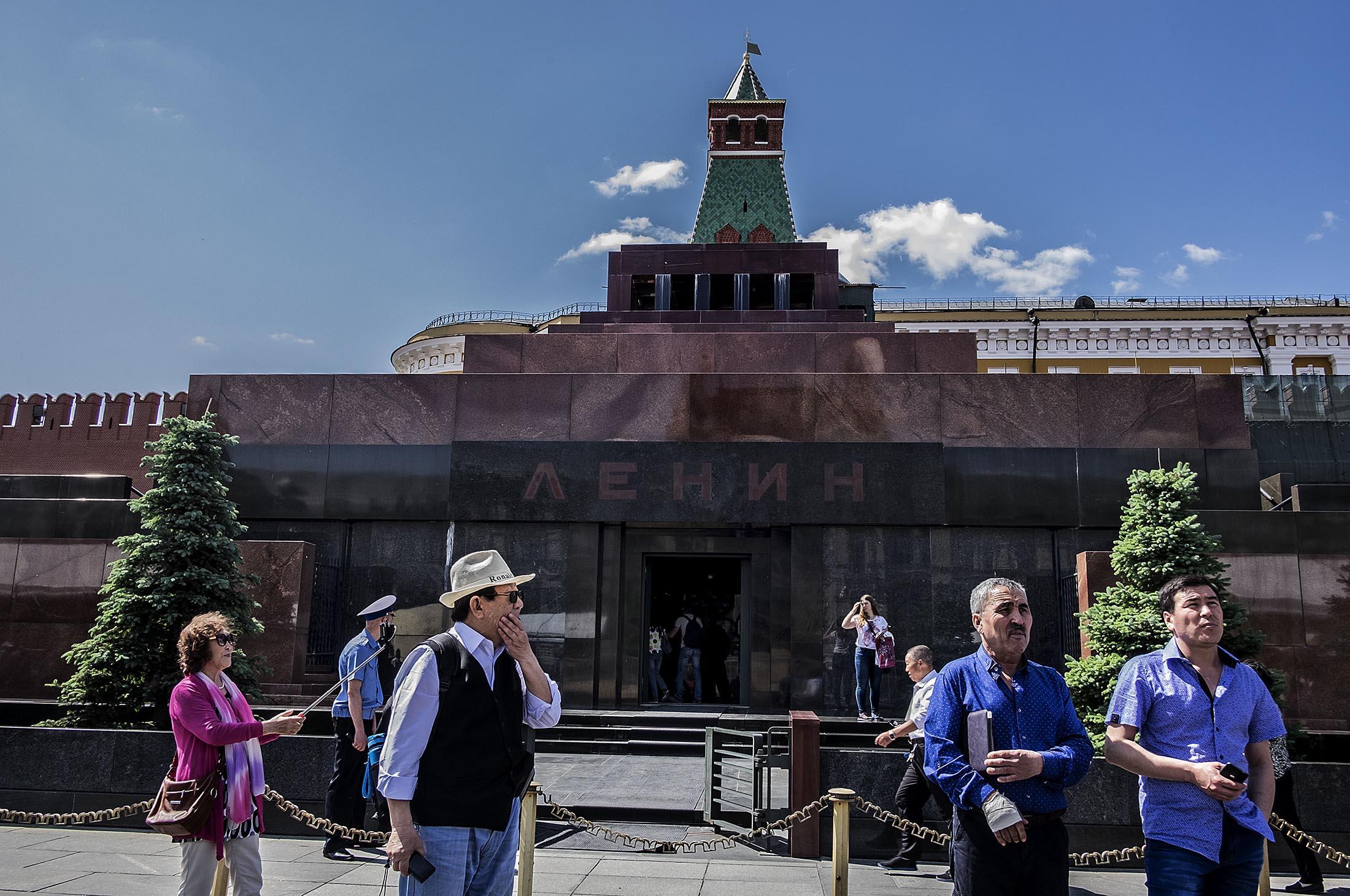 Moscovo, Mausoléu de Lenine - Foto de Adriano Miranda