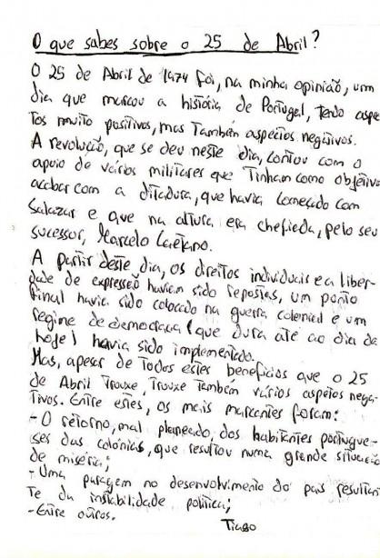 Manuscrito Tiago (ES de Bocage)