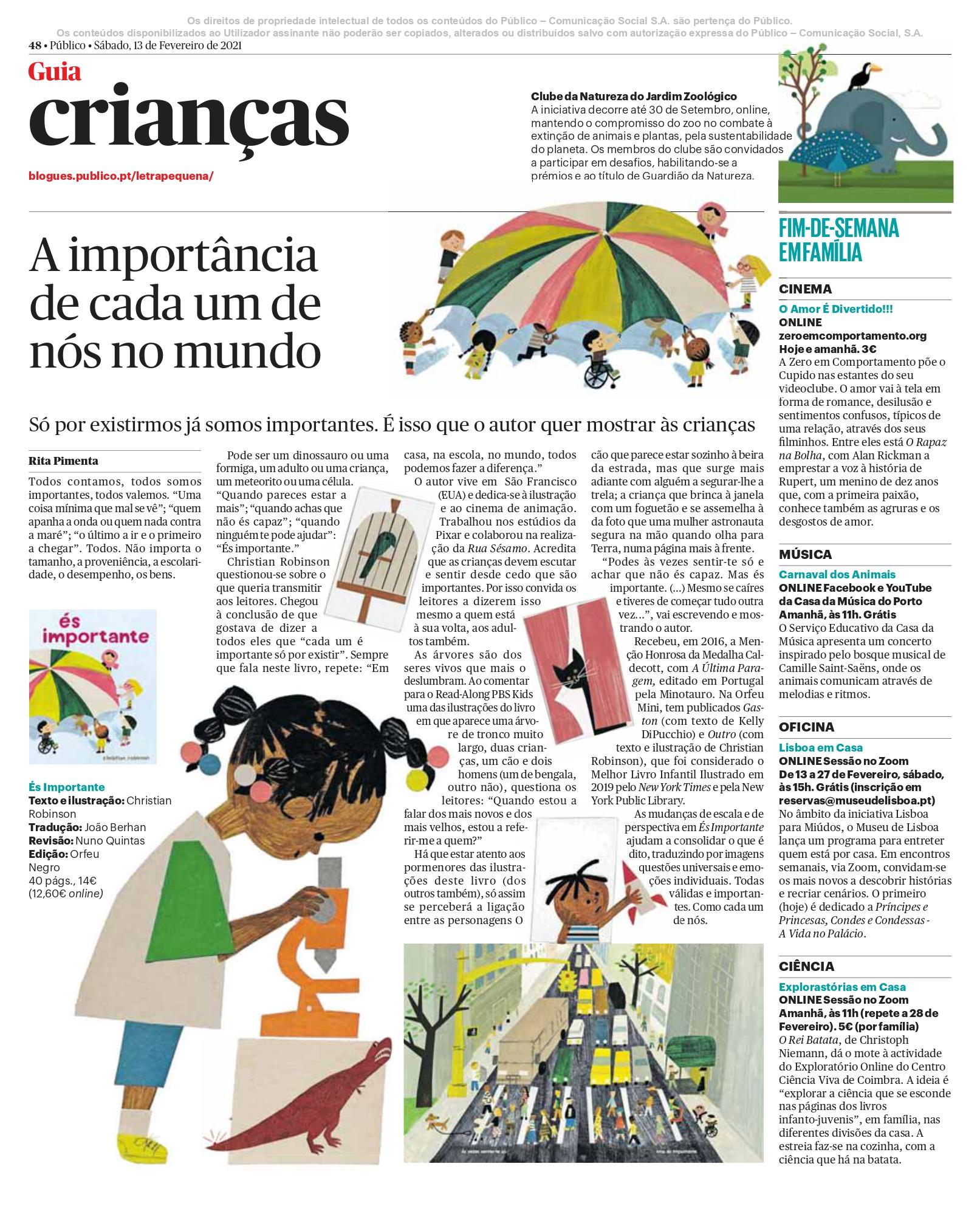 PáginaCrianças13Fev2021Importante