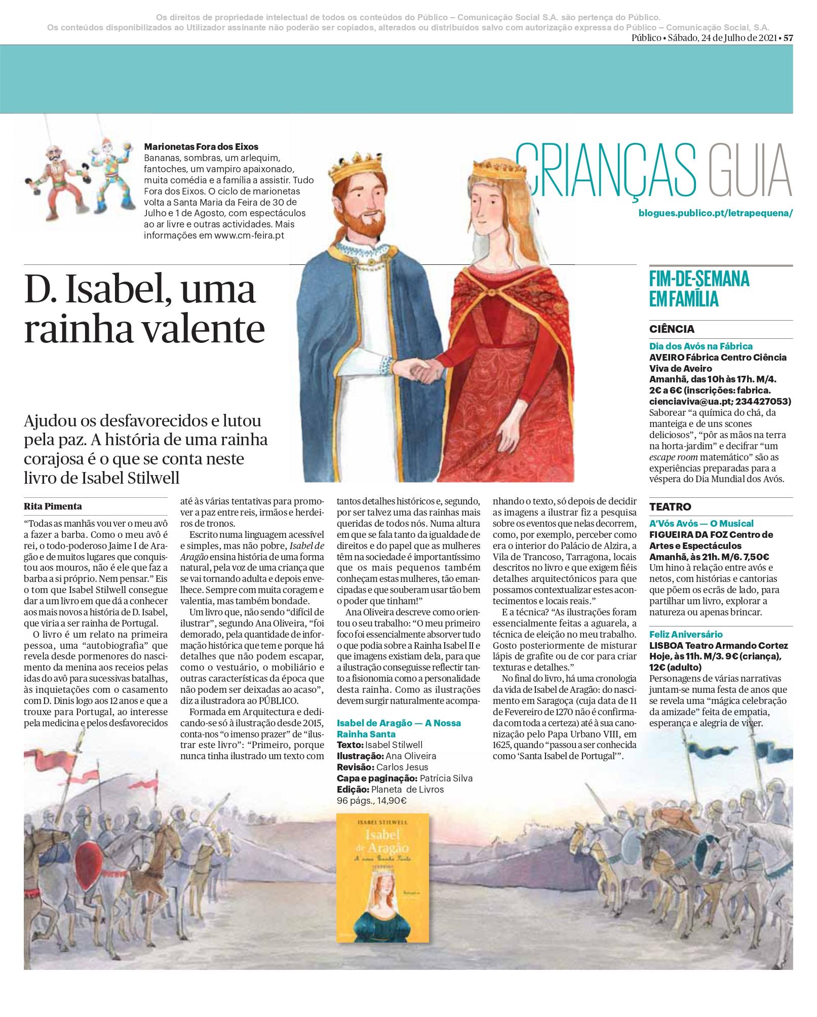 PáginaCrianças24Julho2021IsabelAragão