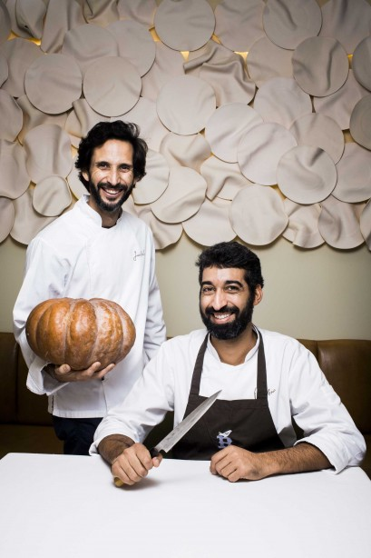 RG Rui Gaudencio - 18 Outubro 2016 - portugal, Lisboa - sub-chefe souschef sub-chef David Jesus (d) e chef Jose Avillez do restaurante Belcanto