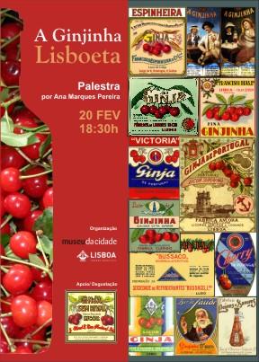 cartaz ginjinha Lisboeta