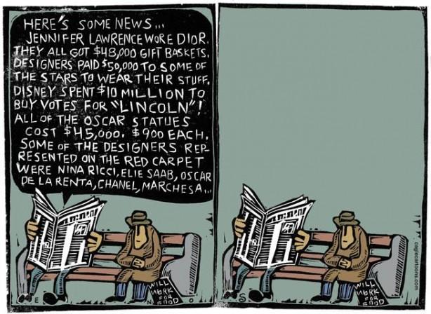 Cartoon: Randall Enos