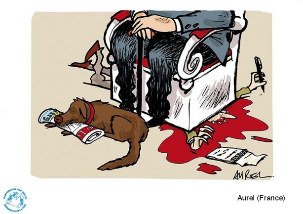 Cartoon: Aurel
