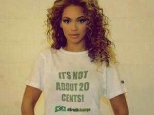 P23 falsa Beyoncé