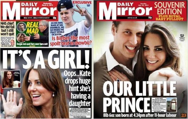P23 Daily Mirror rapariga e rapaz