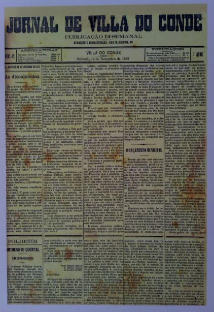 P23 Antero no Jornal Villa do Conde