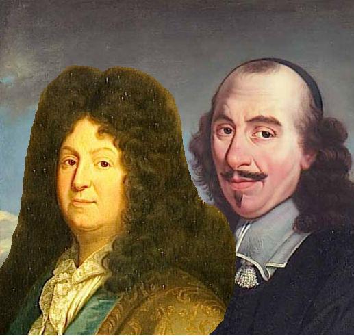 Jean Racine e Pierre Corneille