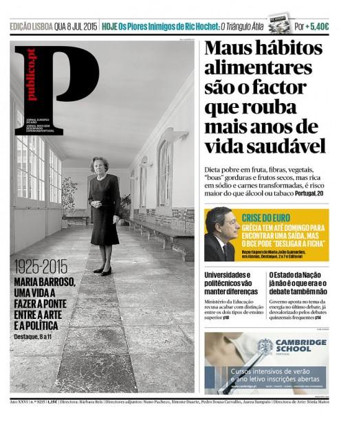 P23 PÚBLICO Maria Barroso