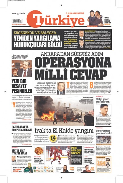 Turquia Türkiye Newspaper