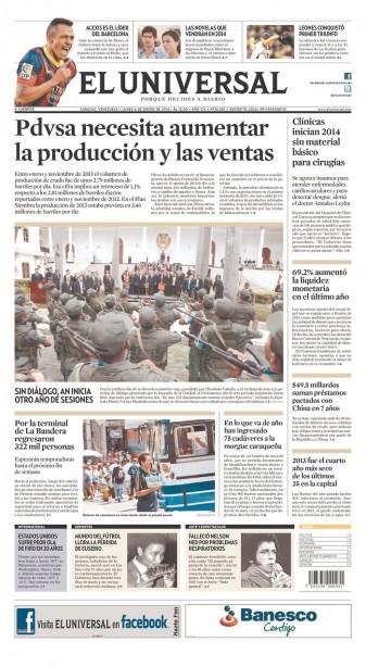 Venezuela El Universal