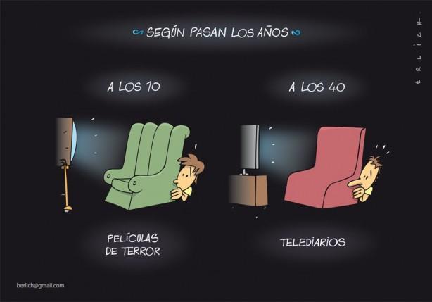 Cartoon de Erlich, publicado hoje no diário espanhol El País