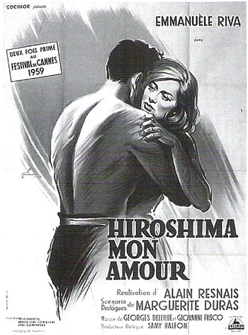 Cartaz do filme Hiroshima, meu amor