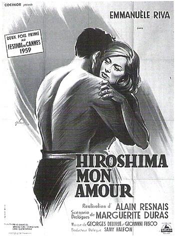 Cartaz do filme Hiroshima, meu amor