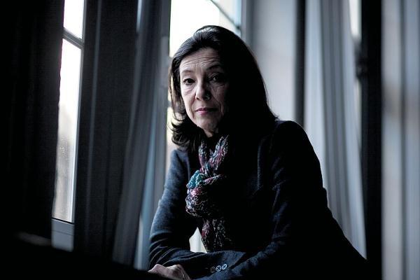Luísa Taveira nos estúdios da CNB, em 2011 foto: Pedro Cunha/Arquivo PÚBLICO